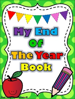 My End Of The Year Book