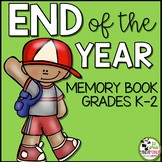 Memory Book for End of the School Year