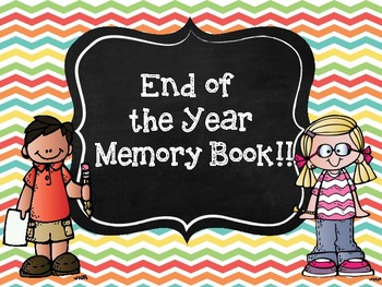 My End of the Year Memory Book