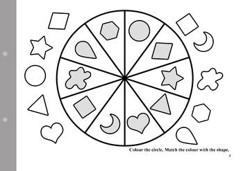 My English woorksheets for PreK/Kindergarten/1st year of Primary