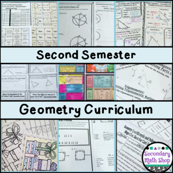 Entire Geometry Curriculum - 11 Units!
