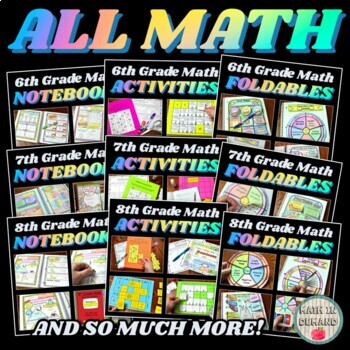 Math Curriculum (My Entire Math Store)