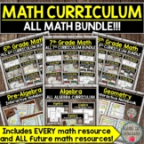 Math Curriculum Bundle (My Entire Math Store) DISTANCE LEA