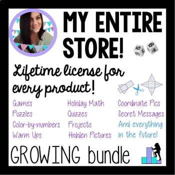 My Entire Store - Growing Bundle! Math