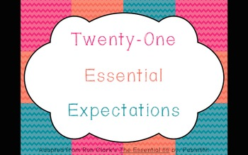 My Essential 21 (of the Essential 55)