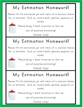 My Estimation Journal