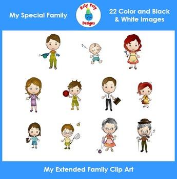My Family Clip Art