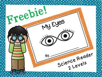Five Senses Freebie!: My Eyes Science Reader