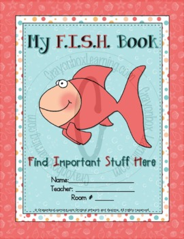 My FISH Book Cover & Labels Kit