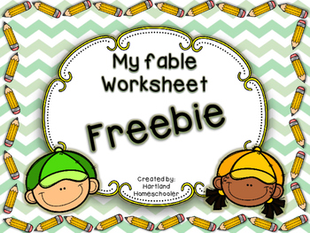 My Fable Worksheet