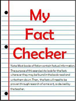 My Fact Checker - Fact/Fiction