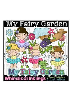 My Fairy Garden Clipart Collection