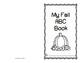 My Fall ABC Writing Book