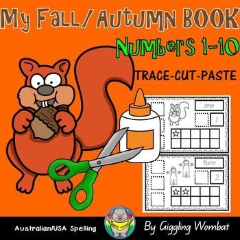 My Fall Autumn Numbers Book 1-10