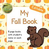 My Fall Book Editable and Personalized