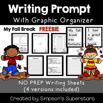 My Fall Break Writing Prompt