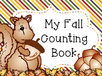 My Fall Counting Book