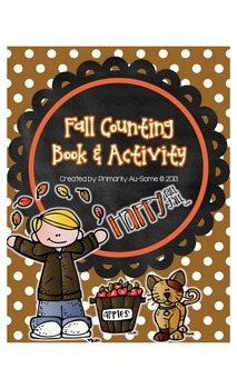 My Fall Counting Book & Activity