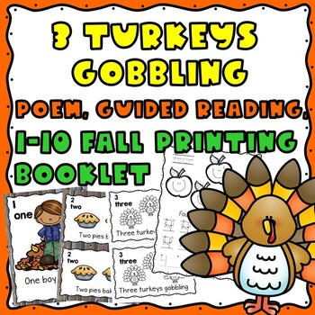 My Fall Counting Booklet