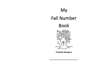 My Fall Number Book