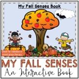 My Fall Senses, An Interactive Book for Speech Therapy