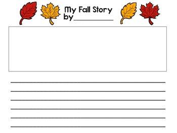 My Fall Storytelling/Writing Guide