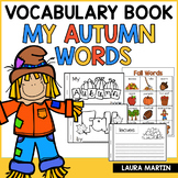 Fall Words Booklet