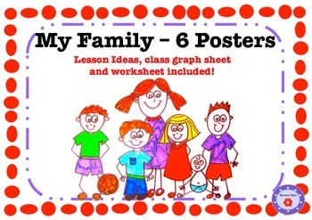 My Family - 6 Mini-Posters