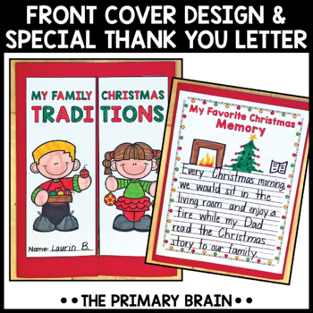 My Family Christmas Traditions Lapbook