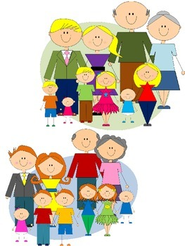 My Family Clip Art BUNDLE - Six Clip Art Sets in One!!