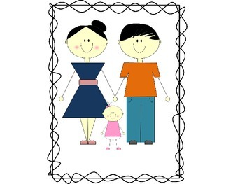 My Family Clip Art Set #2