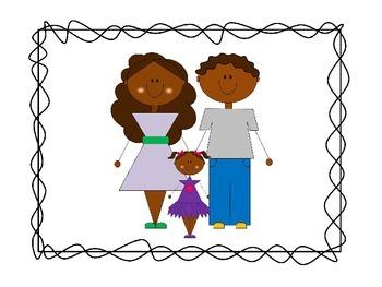 My Family Clip Art Set #5