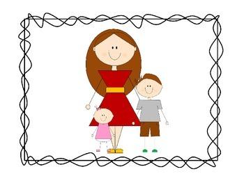 My Family Clip Art Set #6