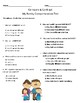 My Family- Comprehension & Vocabulary Test/Quiz (Journey's)