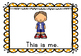 All about Me - My Family Display Pack and Flashcards