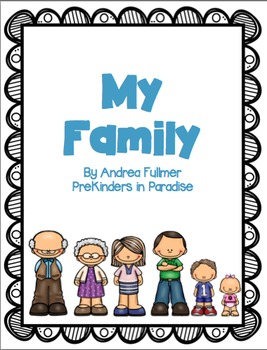 My Family Emergent Reader Pack