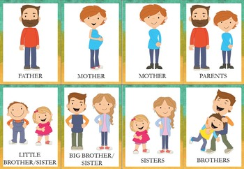 My Family – Fun Games and Activities {K, ESL, EFL}