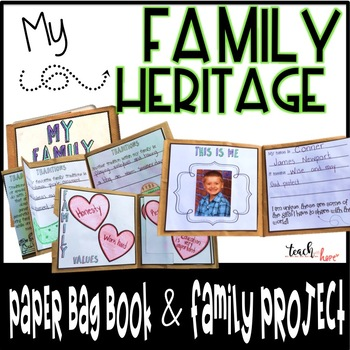 My Family Heritage Project {Paper Bag Book}