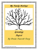 My Family Heritage Genealogy Project