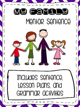 My Family Journey's Mentor Sentence
