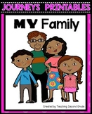 My Family Worksheets Journeys