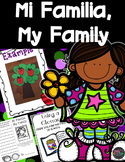 Mi Familia My Family 2nd Grade Supplement Activities Unit 1 Lesson 2