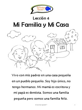 My Family & My House! (13 fun worksheets!)