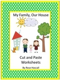 Family Members Worksheets, Special Education and Kindergarten Math Review
