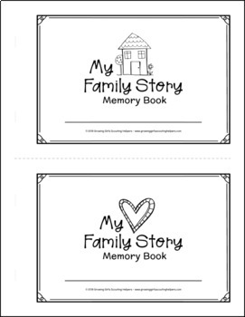 My Family Story Memory Book - Girl Scout Brownies - All 5 Steps!