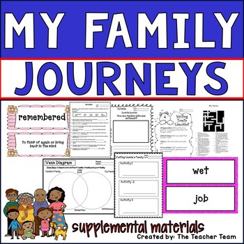 My Family Journeys Second Grade Supplemental Materials