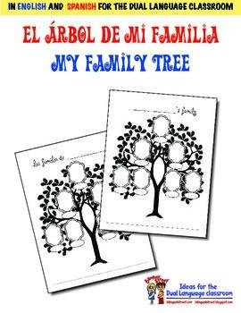 My Family Tree / El arbol de mi familia / Bilingual Page f