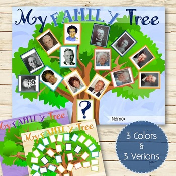 My Family Tree - INSTANT DOWNLOAD