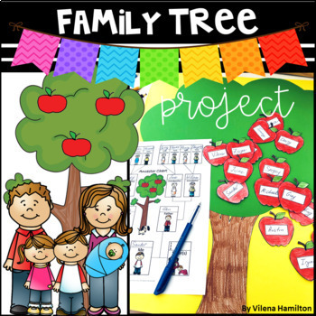 """""""My Family Tree"""" Social Studies Project"""