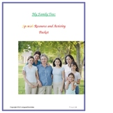 My Family Tree: Spanish Resource and Activity Packet